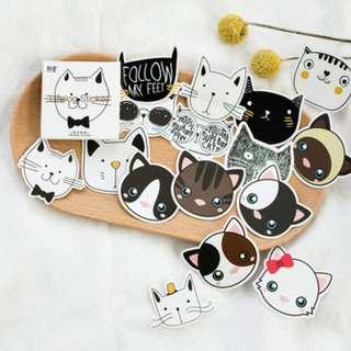 Sticker Set (Cat) (Ref No.: 311)