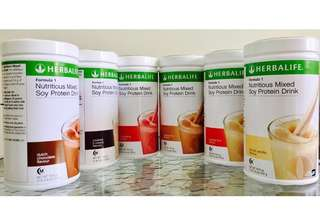 Herbalife F1 Nutritious Soy Shake