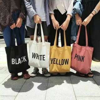 Totebag Canvas (NEW)