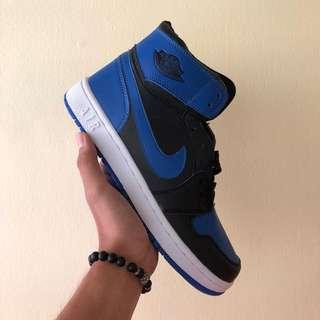 NIKE AIRMAX AIR JORDAN BLACK BLUE