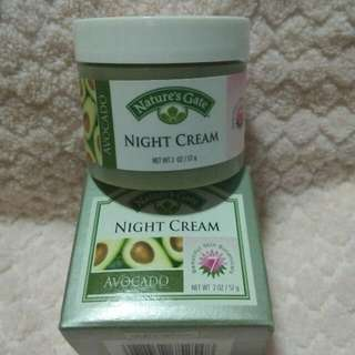 Nature's Gate Avocado Night Cream