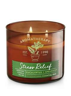 Stress Relief Candle Bath & Body Works