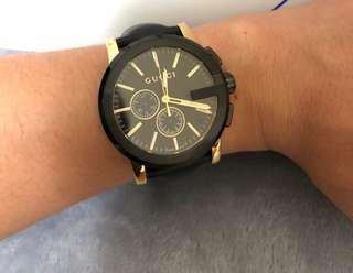 🚚 Gucci 雙眼計時錶