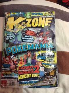 K-zone 4pcs bundle