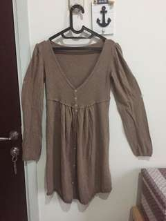 Light Brown Dress / Outer