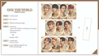 Wanna One Photo Card Set