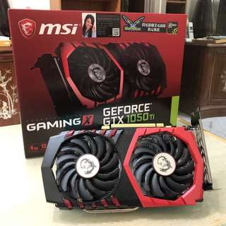 MSI GeForce GTX 1050顯示卡
