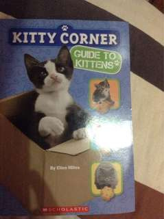 Kitty corner guide to kittens book😊
