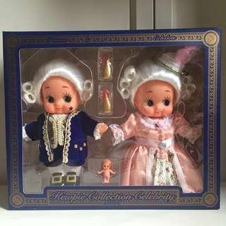 Kewpie 貴族丘比BB 日本2005年Kewpie沙律醬抽獎禮物 非賣品 絕版限量 新品 未開封 (非sonny angel, blythe)日本公仔 娃娃 結婚 車頭公仔