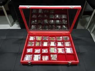 24 Lot Amulet Tray for sale