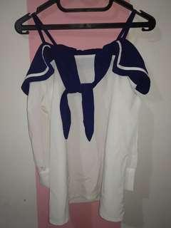 Baju sailormoon navy