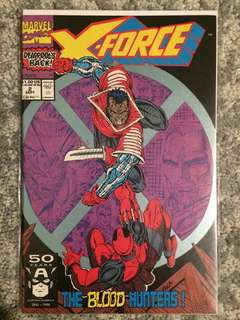 X force #2 (2nd appearance of Deadpool)