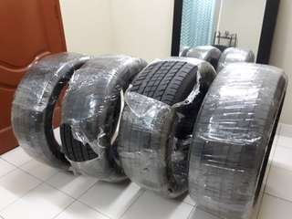 Michelin latitude sport 275/45/21