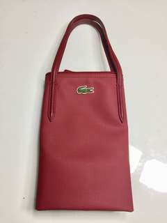 💯 Authentic Lacoste Horizontal Tote Bag