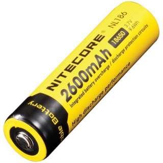 (In-stock) Nitecore 18650 Li-ion Rechargable Battery 2600 mAh 3.7V