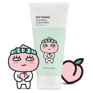 The Face Shop X KakaoTalk foam cleanser