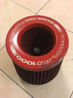 Zero 1000 top fuel open pod air filter
