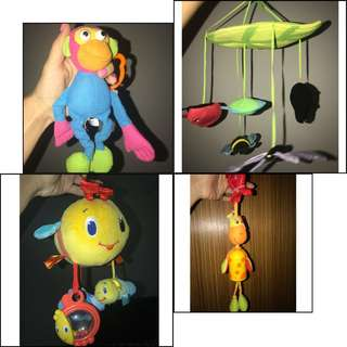 For all 4 Baby Toy 14$
