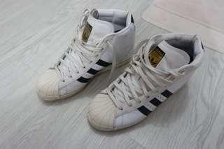 Adidas superstar wedges