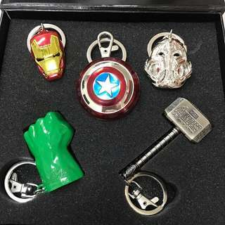 Avengers Keychains (100% NEW)