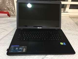 ASUS X751M 17.3吋筆記型電腦