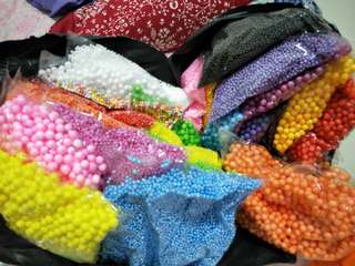 Colorful Foam Beads