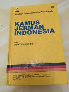 KAMUS JERMAN INDONESIA