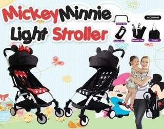 Mickey & Minie Lightweight Stroller