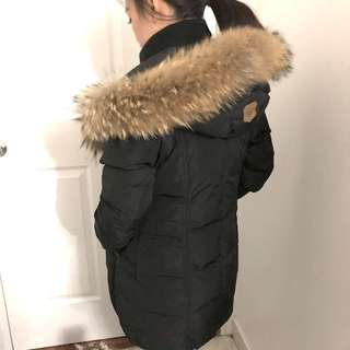 Mackage WINTER DOWN COAT WITH FUR HOOD