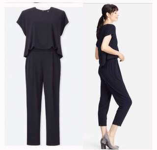RUSH Uniqlo Navy Blue Jumpsuit
