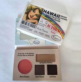 The Balm Eyeshadow Hawaii Face Palette