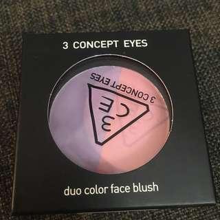 3CE Duo Colour Face Blush
