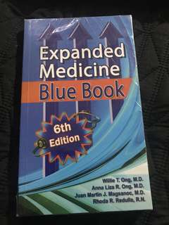 NEW Expanded Medicine Blue Book 6th Ed.