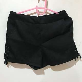 Just G Black shorts