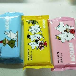 🚚 Moomin 溼紙巾