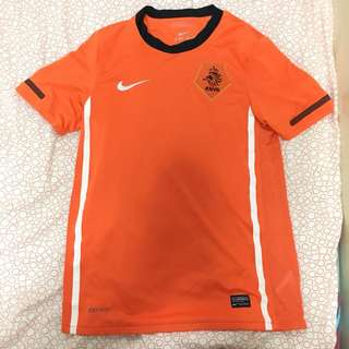 Holland Dutch Nederland Netherlands oranje Home Jersey kit