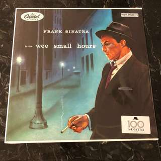 Frank Sinatra - In the wee small hours. Vinyl Lp. New