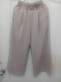 🚚 粉藕色寬褲