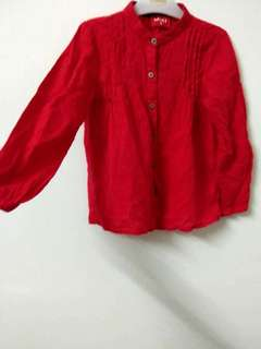 Padini Kids Shirt (Red clr)