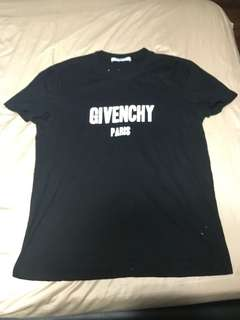 Givenchy distressed sample tee