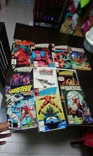 Limited Time Offer!! Vintage Daredevil Comics Lot of 10