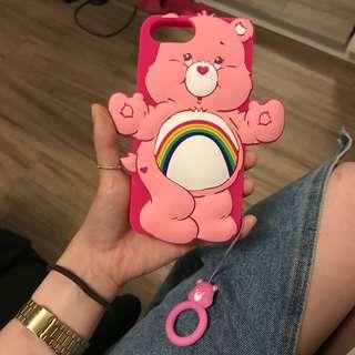 🚚 Iphone7plus/8plus 手機殼 彩虹熊