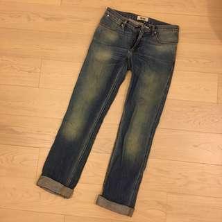 Acne studios jeans washed denim
