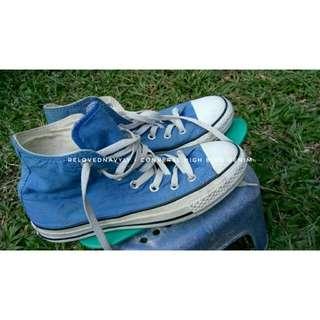 Converse Hi Blue Denim