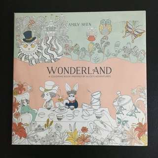 Wonderland Coloring Book