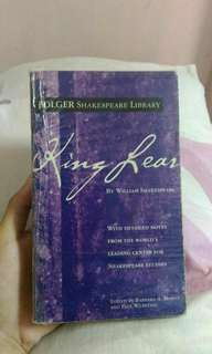 King Lear by Shakespeare (Folger Library Edition)