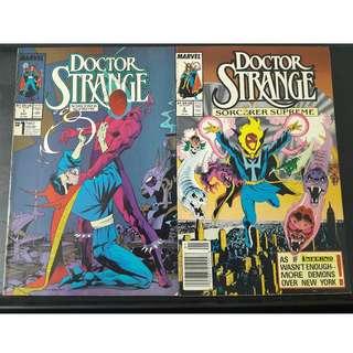 Doctor Strange: Sorcerer Supreme #1 & #2