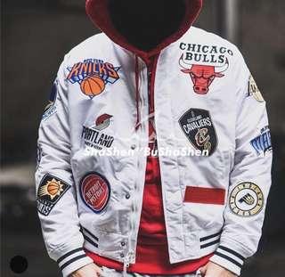 Supreme Jacket nba