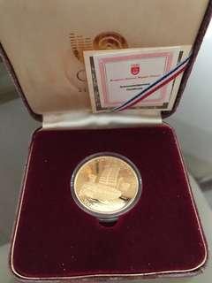 Seoul 1988 olympics coin set