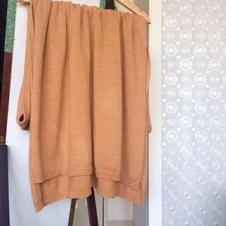 🚚 Anden Hud針織柔軟圍巾- 薄款駝色